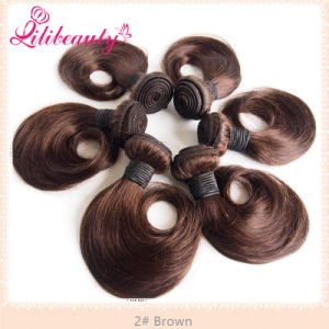 """10"""" Two Tones Ombre Malaysian Human Hair Weft Fashion Ombre Hair pictures & photos"""