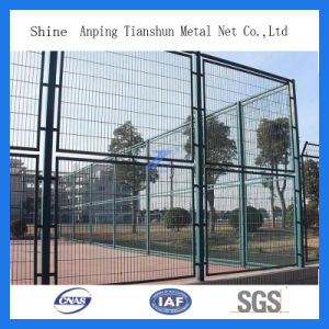 PVC Coated Welded Sports Court Fence (TS-L105) pictures & photos