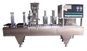 Automatic Coffee Capsule Filling Sealing Machine pictures & photos