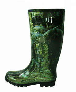 Ladies Fashionable Rain Boots pictures & photos