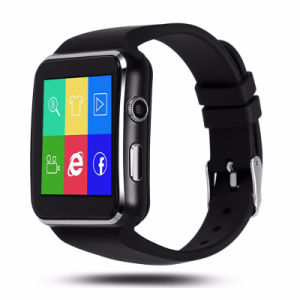 Bluetooth Pedometer Smart Watch on Wrist Dial Call Message Reminder Wrist Watch for Android pictures & photos