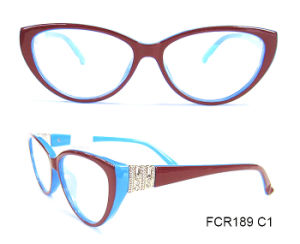 Plastic Nice Decoration Cat Eye Reading Glasses pictures & photos