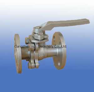 2PC Stainless Steel Flanged Ball Valve pictures & photos