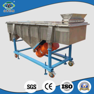 SUS304 Goat Milk Powder Linear Vibro Sieve pictures & photos