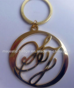 Customized Plating Gold Key Chain (Hz 1001 K026) pictures & photos