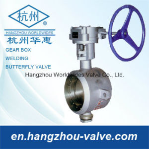 Fully Welded Butterfly Valve