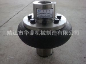 Newest High Speed Resilient Rubber Tyre Coupling