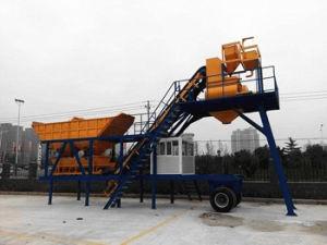 Mobile Concrete Batching Plant (YHZS25) pictures & photos