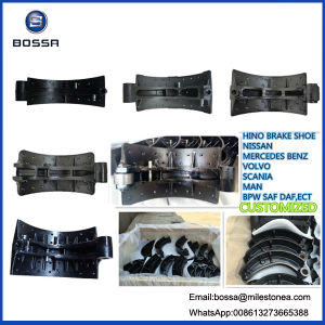 Customized Castings Auto Brake Shoe and Brake Drum Parts pictures & photos