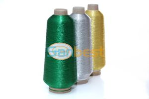 Colors Metallic Embroidery Thread with Polyester or Rayon Core Yarn pictures & photos