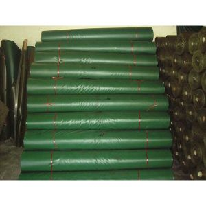 300d*300d Green PVC Tarpaulin Fabric