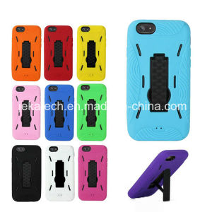 Hybrid PC TPU Stand Case for iPhone 6 pictures & photos