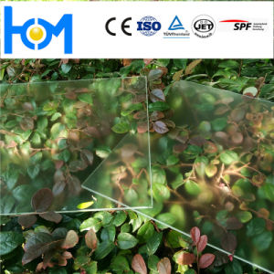 High Temperature Clear Coated Solar Glass for Building Decorative pictures & photos