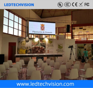 Indoor Rental Brushed-Aluminum LED Display for Stage (P3mm, P4mm, P5mm, P6mm) pictures & photos