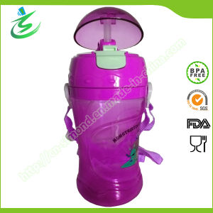 Tritan Water Bottle with Straw and Customized Logo pictures & photos