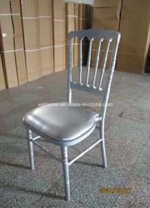 Quality Beech Wood Napoleon Chair with Hard Cushion for Sale pictures & photos