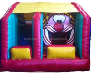 Small Inflatable Combo, Clown Bouncer (B3016) pictures & photos