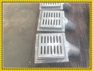 Gg20 Gg25 Ggg40 Sand Cast Iron Channel Gully Drain Grate pictures & photos