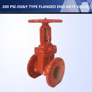 UL Listed 200 Psi -OS&Y Type Flanged End Gate Valve pictures & photos