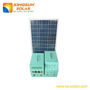 Solar Home Power System Solar Panel: 70W; Battery: 38ah pictures & photos