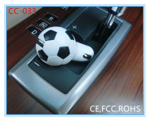 Football Shape Promotional 2.1A USB Car Charger (CC-033)