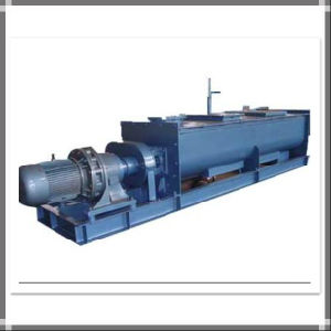 Continuous Single Shaft Paddle Mixer pictures & photos