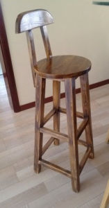 Solid Wood Vintage Bar Chair with High Quality (M-X3003) pictures & photos