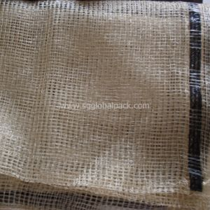 PP Tubular Leno Firewood Mesh Bag pictures & photos