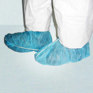 Disposable Nonwoven Non Slip Shoe Cover Ce & ISO Certified pictures & photos