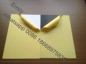 0.5mm Self Adhesive Photo Album PVC Sheet pictures & photos