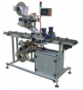 Automatic Top and Bottom Sides Labeling Machine pictures & photos