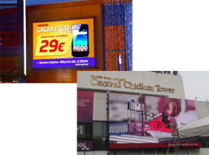 Chipshow P10 Outdoor Full Color Advertising LED Display pictures & photos