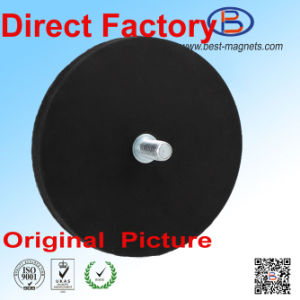 Direct Factory of Permanent NdFeB Rubber Coated/Coating/Covering Magnet Pot/Gripper pictures & photos