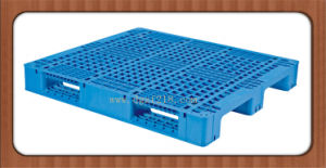 1200X1100X150mm Heavy Duty 3 Runners Grid Durable Racking Plastic Pallet pictures & photos
