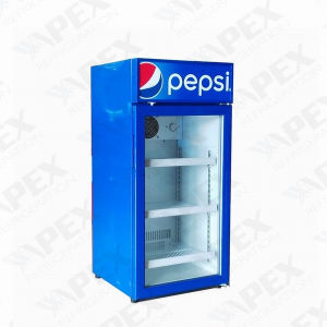 Popular Supermarket Counter Top Display Cooler Mini Fridge pictures & photos
