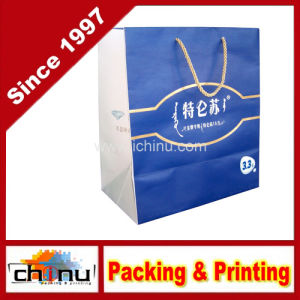 Art Paper / White Paper 4 Color Printed Bag (2231) pictures & photos