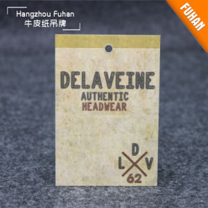 High Quality Kraft Paper Clothes Hangtags pictures & photos