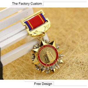 Serving Metal Commemorative Medals Customized pictures & photos