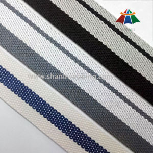 Striped Polyester Webbing for Luggage, Bags pictures & photos