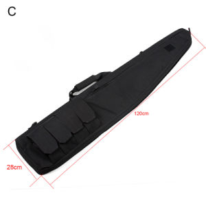 70/100/120cm Shooting Gun Accessory Rifle Gun Case Airsoft Bag pictures & photos