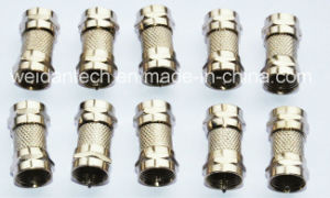 F Male to F Male Plug Adapter pictures & photos