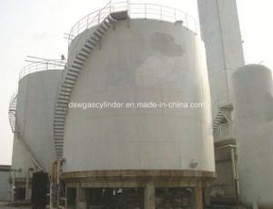 Lox, Lin, Lar, LNG, Lco2 Vertical Type Cryogenic Spherical Tank with 300-3000m3 Capacity pictures & photos