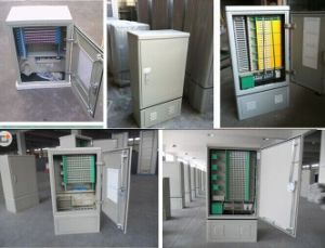 SMC Stainless Steel Outdoor Fiber Optic Cabinet Optical Cabient pictures & photos