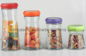 4PCS Clear Storage Jars (SG1322SJ) pictures & photos