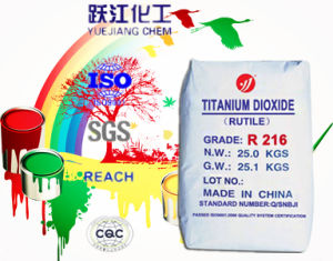 Titanium Dioxide Rutile R216 Interior Paint pictures & photos
