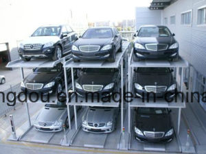 ISO Ce, Psh/Pjh--5floors Vertical Horizontal Automated Car Parking System pictures & photos