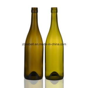Antique Green, Dark. Green Bvs Screwtop Glass Wine Bottle pictures & photos