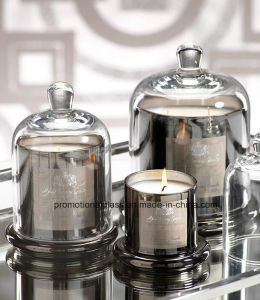 New Hot Design Electroplate Glass Bell Jars, Bell Candle Jars pictures & photos