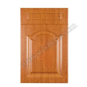 PVC Pressed MDF Laminate Cabinet D34 (Light cherry)