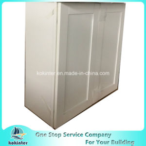 American Style Kitchen Cabinet White Shaker W3030 pictures & photos